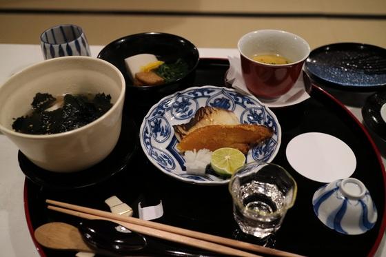 鯛茶漬けとカラスミ等の絶品料理.JPG