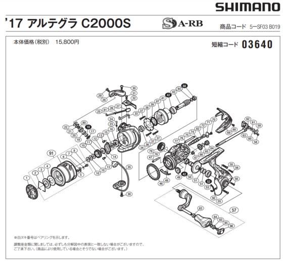 Shimano 17 アルテグラ C2000S.PNG